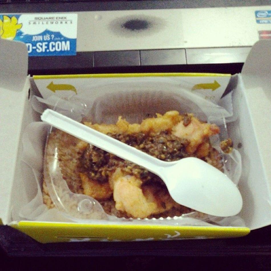 namastey Lunch SambelIjo Chickenfillet