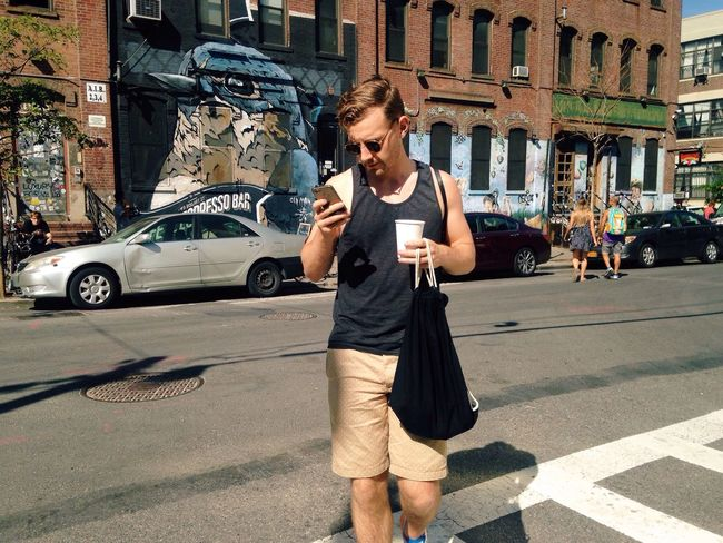 Walking Around My Smartphone Life Brooklyn Hipster Life