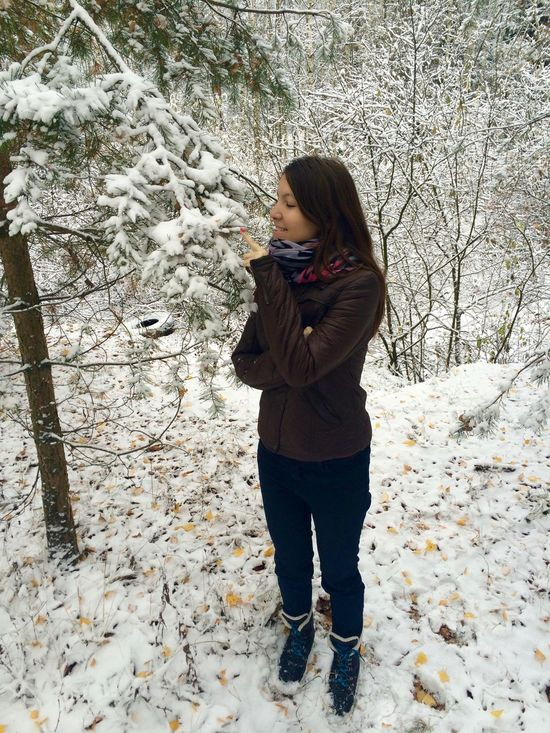Casual Clothing Cold Temperature Forest Full Length Girl Leisure Activity Nature Outdoors Portrait Russia Snow Snow Covered Snowing Standing Tree Warm Clothing Winter Young Women Portrait Of A Woman Snow ❄