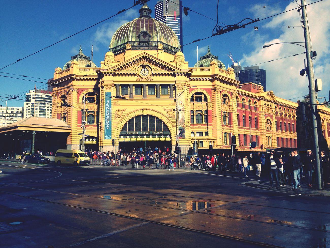 Flinders St #Melbourne