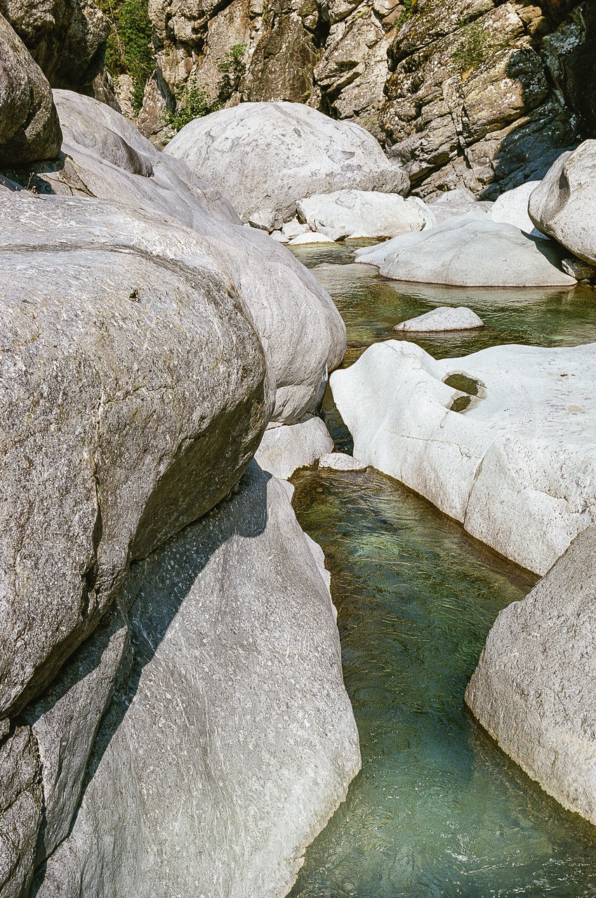river, rock - object, nature, landscape, beauty in nature, water, scenics, outdoors, no people, day