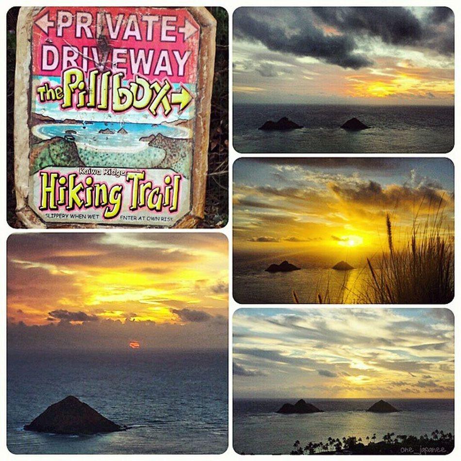 Aloha Monday friends! Goodmorning Aloha Awesomeness Sunrise Lanikaipillboxes Lanikai  Kailua  Hawaii 967🌴4 Beautifulday Beautiful Epichi VentureHi Twinislands Luckywelivehi Hike ExploreHawaii Exercise Fitlife GodIsGood JustDoIt Mylife Samsunggalaxy4