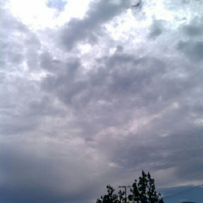 It's a Cloudy & Humid day ugh! In Reseda