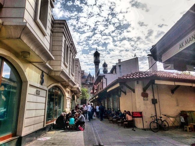 Architecture Built Structure Building Exterior Car Land Vehicle Sky Day Transportation Cloud - Sky City Outdoors No People Konyainstagram Konya Turkey Konyagram Sony Xperia Z3 Compact Clear Sky Cloud Travel Destinations History Turkey