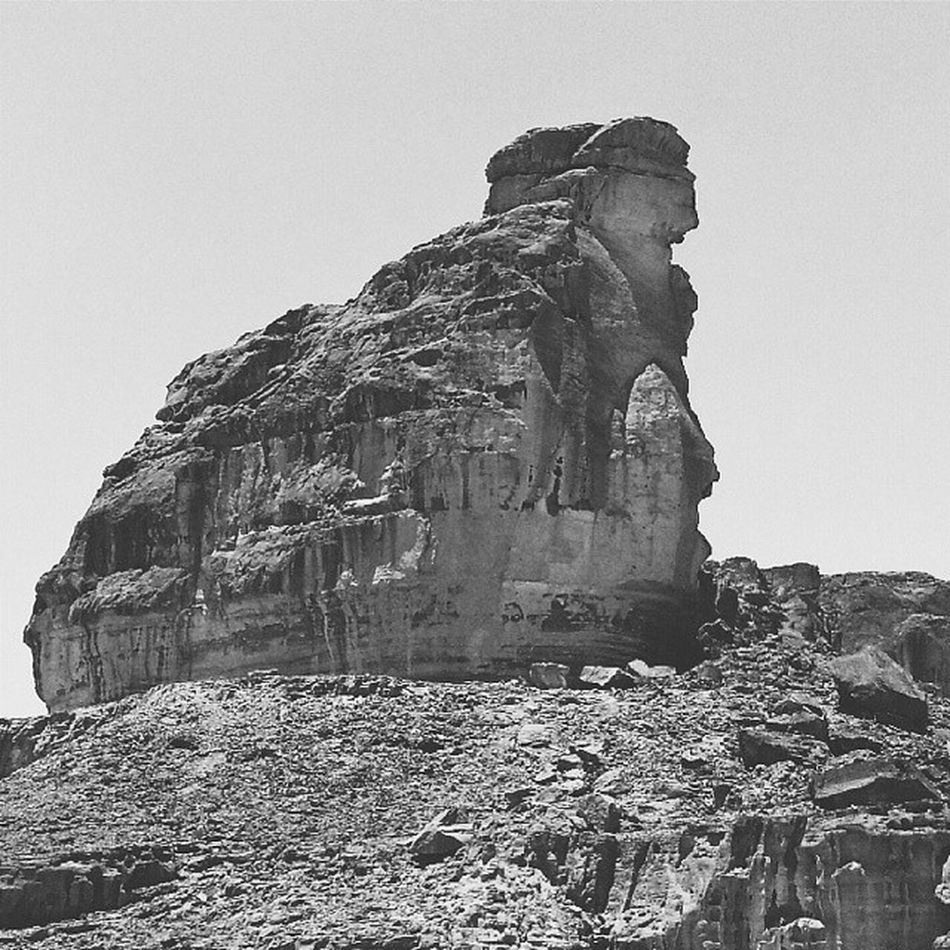Do you see the sphinx? Timnapark Elifaz Israel Vscocam