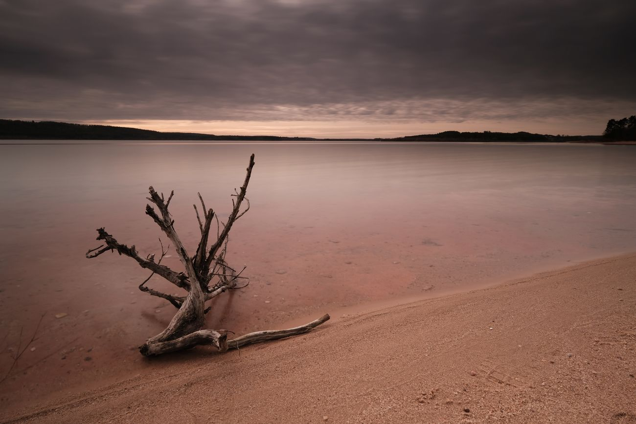Silence Nature Water Tree Sand Landscape Lake Outdoors Beauty No People Beauty In Nature Scenics Day Reflection Smooth Fujifilm Fuji Cloud - Sky Taking Photos Natural Parkland Mystyle Long Exposure