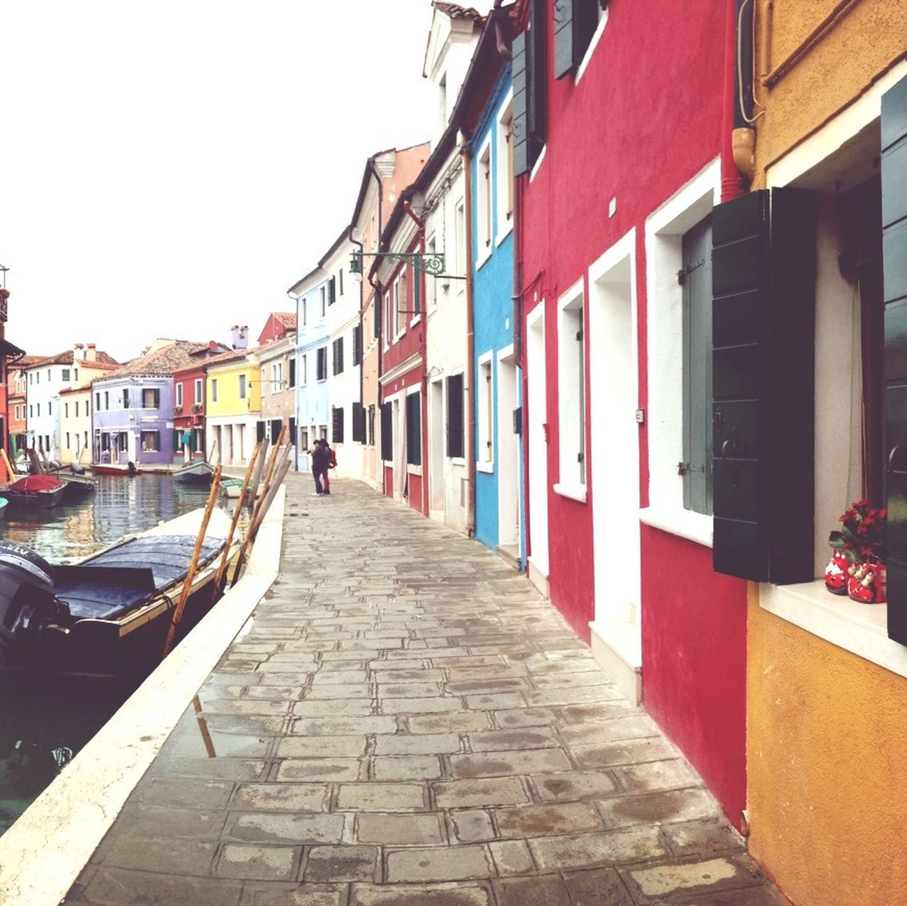 On the Island of Burano. Hanging Out Enjoying Life Venice