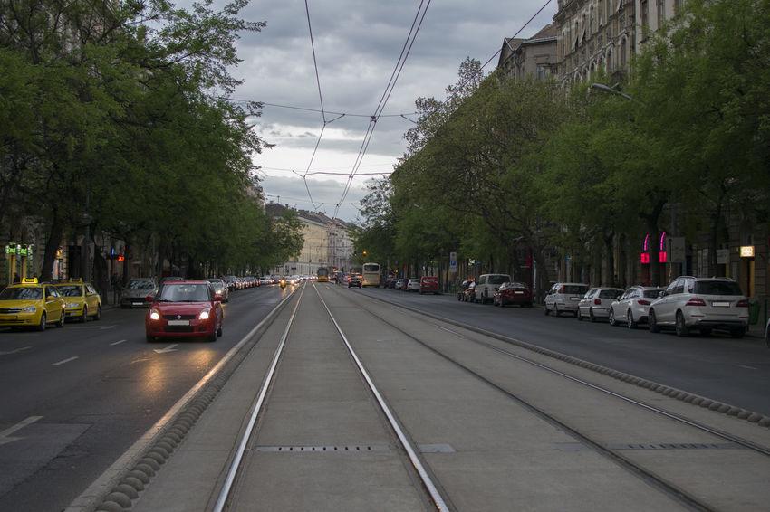 Budapest Street Taking Photos