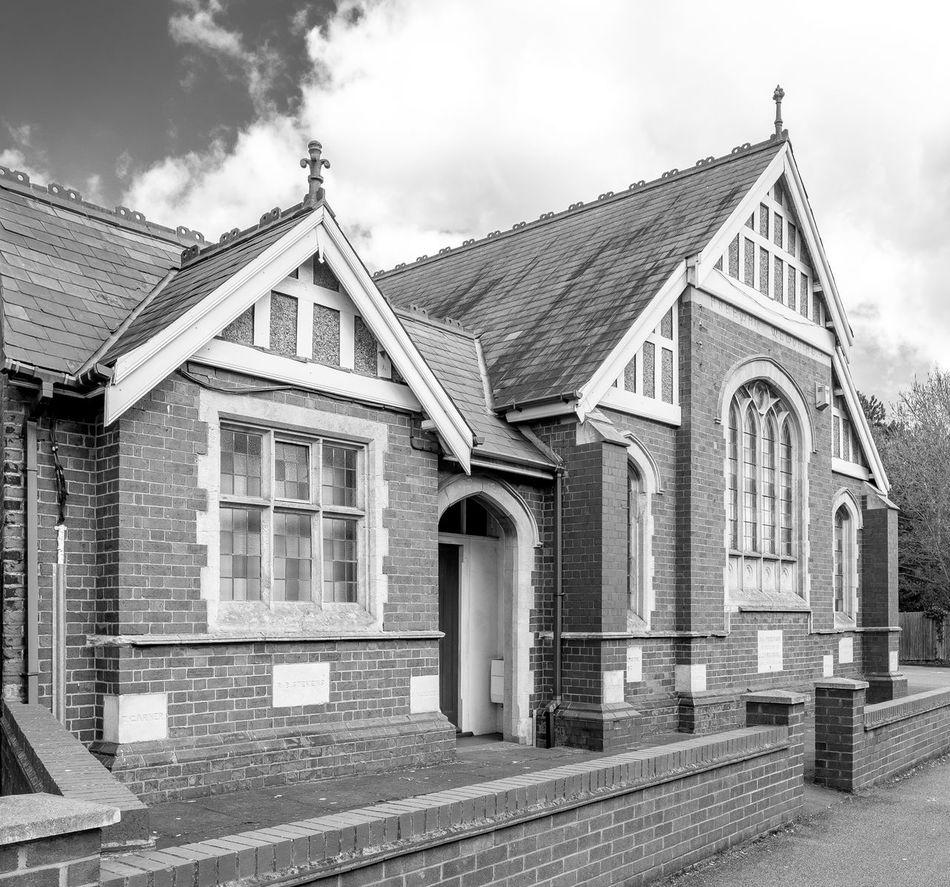 Freeman Memorial Methodist Church, Bletchley, Buckinghamshire Methodist Methodist Church Church Monochrome Black And White FUJIFILM X-T10 Architecture Bletchley  Buckinghamshire
