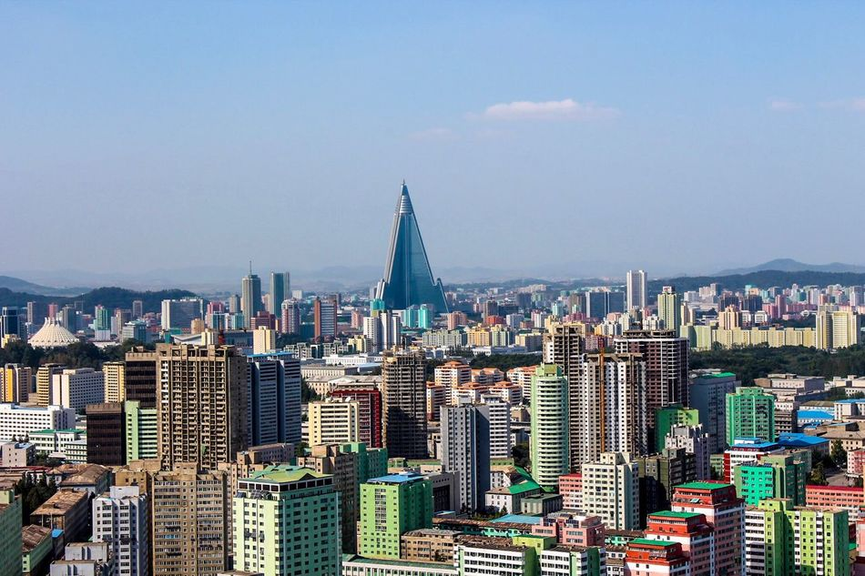 Beautiful stock photos of north korea,  Aerial View,  Architecture,  Blue,  Building Exterior