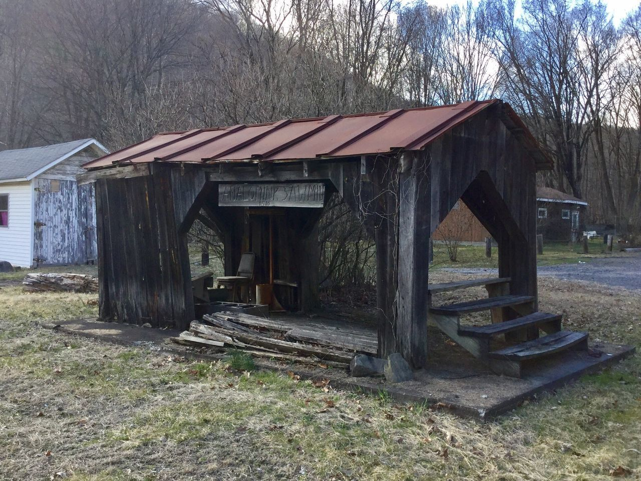 No People Wood - Material Building Exterior Outdoors Built Structure Day Eye Em New Here