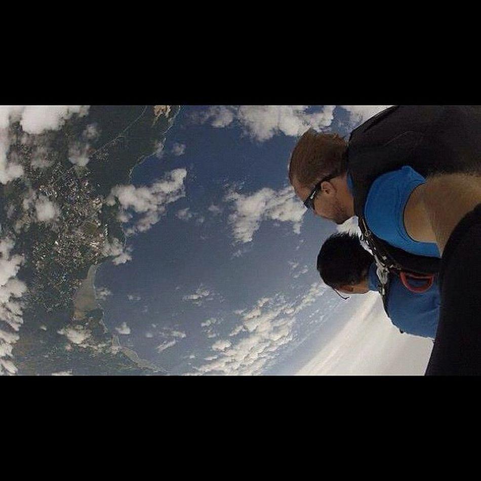 飛んでる最中「ヤベー」、「最高〜♪」しか叫んでなかったwww Sky Guam Gopro Skydive Webstagram Freefall Hafaadai グアム スカイダイビング Skydving ソラトビ
