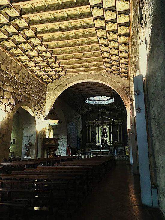 Architecture Religion Indoors  Travel Destinations Iglesia San Francisco Santiagoapie