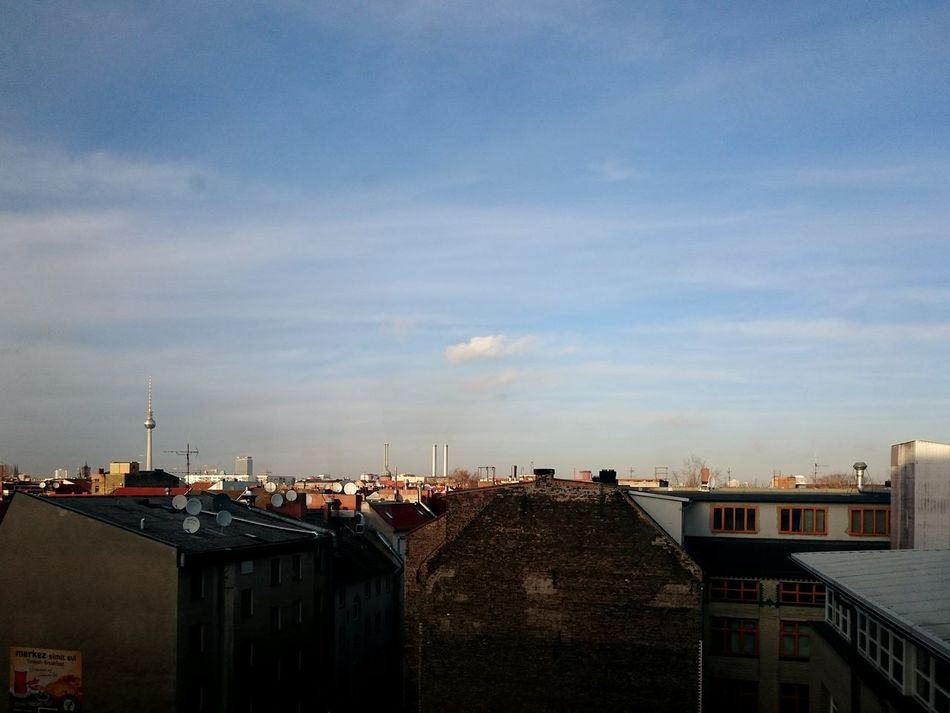 Berlin Kreuzberg Urban Landscape Rooftops Sunny Day Showcase: January