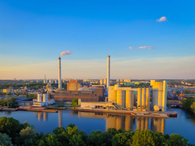 Spreepark Spreepark Plänterwald Factory Power Plant industrial Industrie Drone  Dronephotography Berlin Www.airteam.camera Dji
