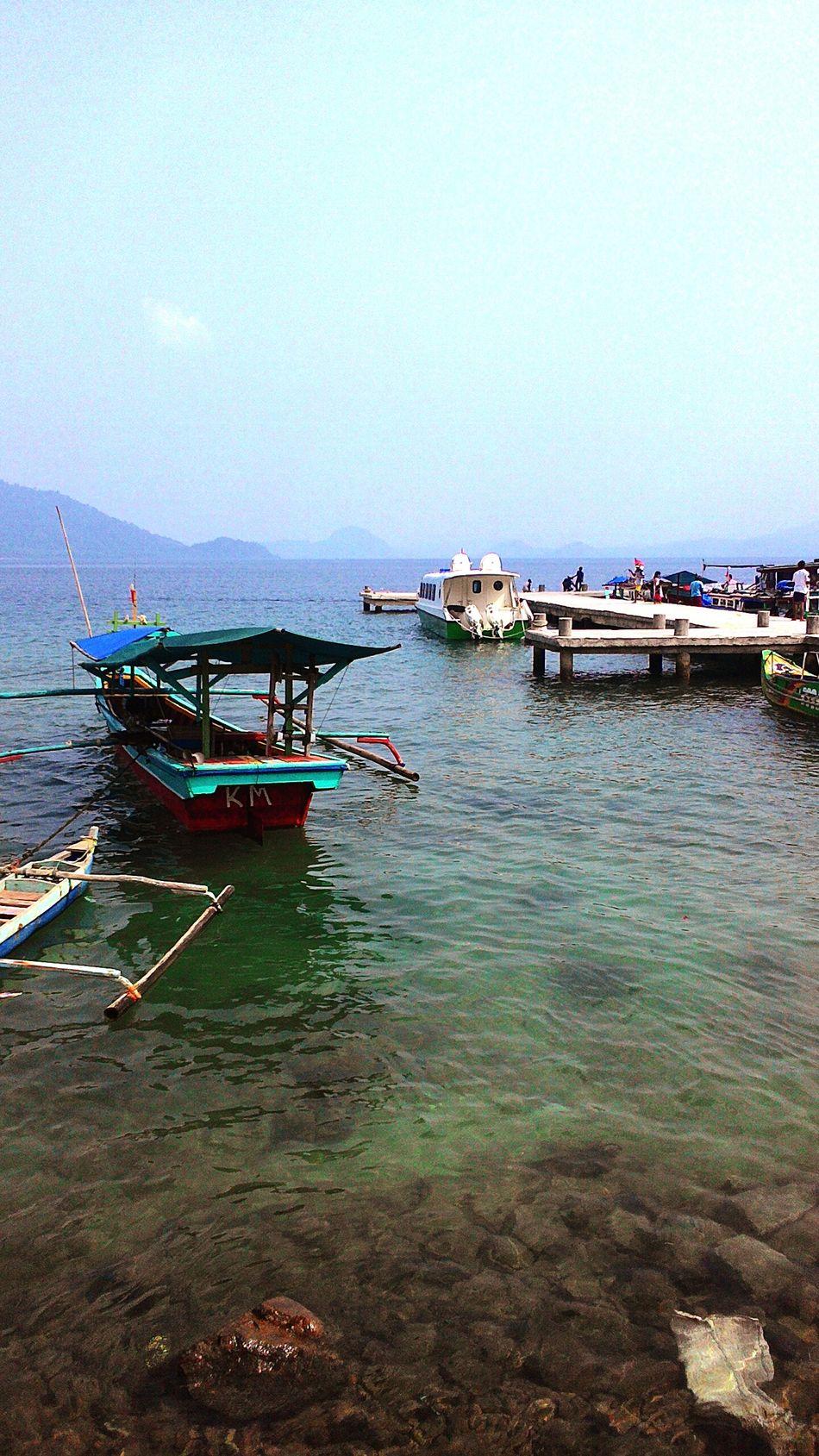 Stay joy , pelabuhan ketapang trip pulau pahawang Pahawangtrip Pahawangisland Boats⛵️ EksploreLampung eksplo