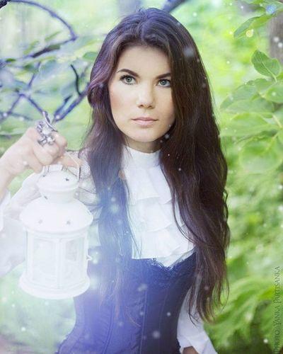 эльфийка фотопленер Yanka_partisanka Model фото Kamchatka сказка фонарь блики