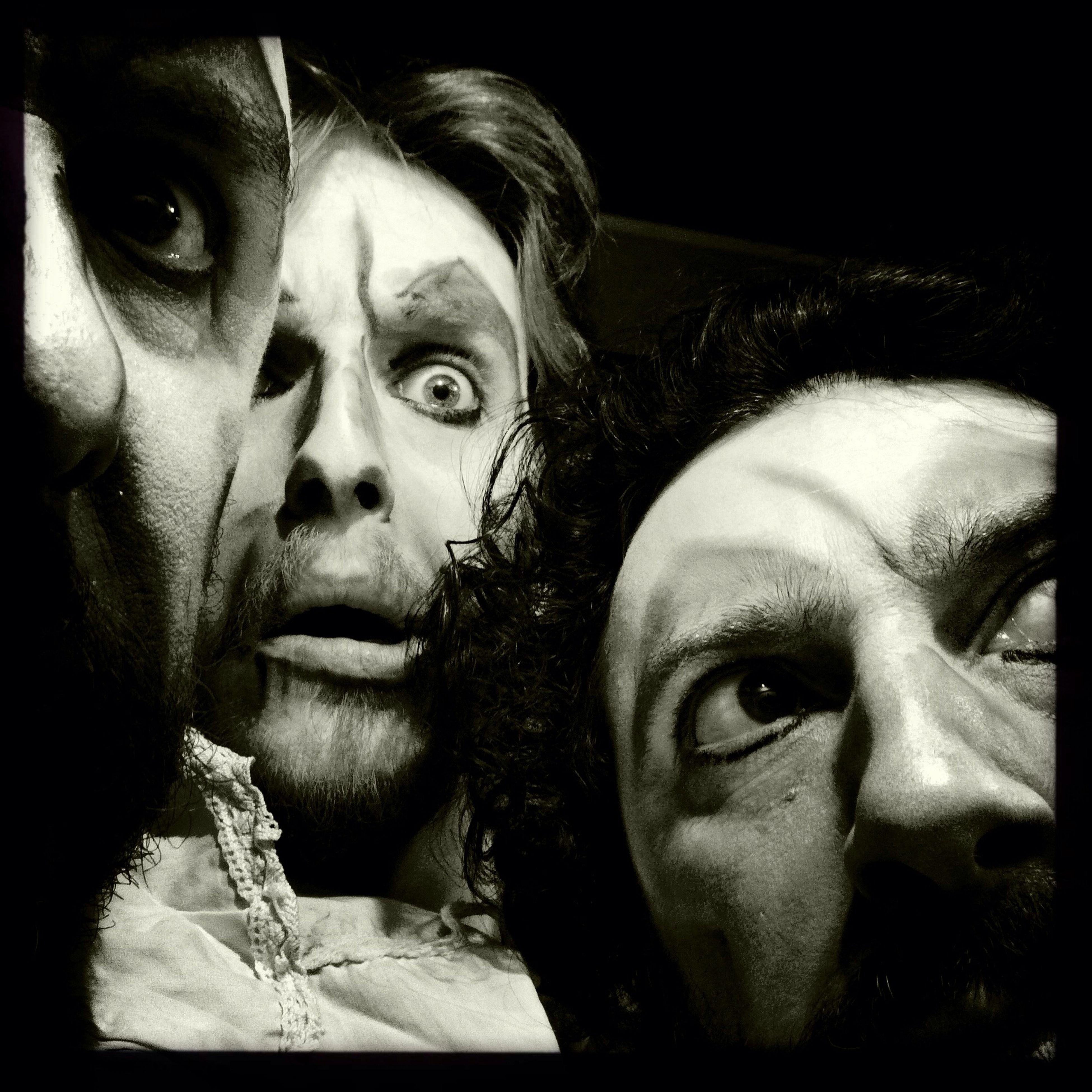 before the show at Teatro Filippini Before The Show Nessun Flash Pellicola Claunch 72 Monochrome