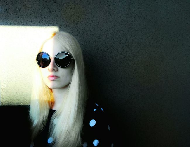 The OO Mission Portrait Portrait Of A Woman Portrait Photography Fine Art Fine Art Photography Sunglasses Glasses Young Women Blonde Girl Monochrome Colour Of Life Play With The Light Hippie Contrasts Contrasting Colors Seductive Photography Beutiful Girl Light And Shadow Light Source Avantguarde EyeEm Best Shots EyeEm Portraits Portrait Collection Showcase July