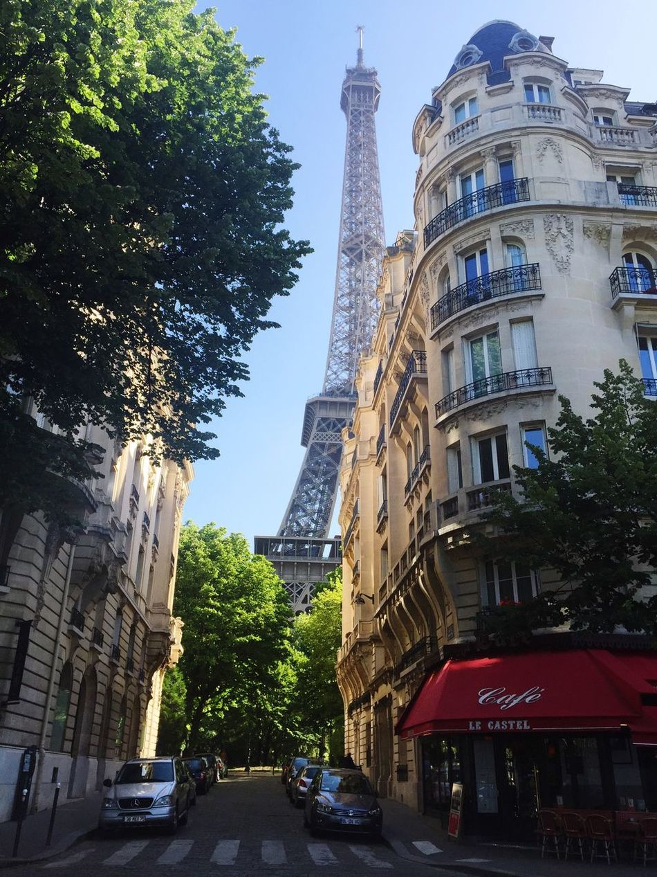 Eiffel Tower Parisisbeautiful Thesuniscomingup IPhoneography