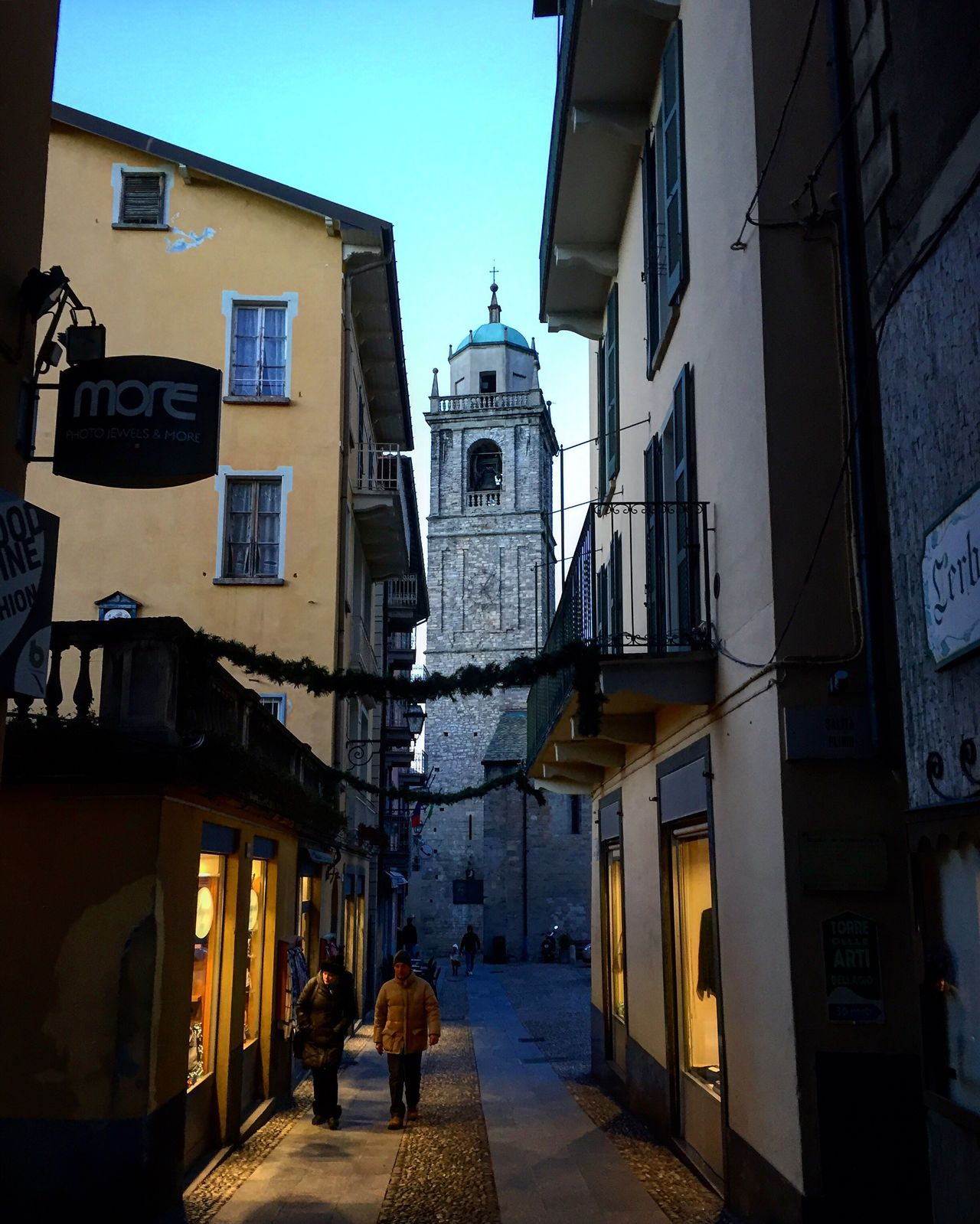 Architecture Building Exterior Built Structure Religion Place Of Worship Spirituality Outdoors Façade Travel Destinations Sky No People Day Non-urban Scene Clear Sky Bellagio Lakecomo Panorama Landscape Tranquil Scene