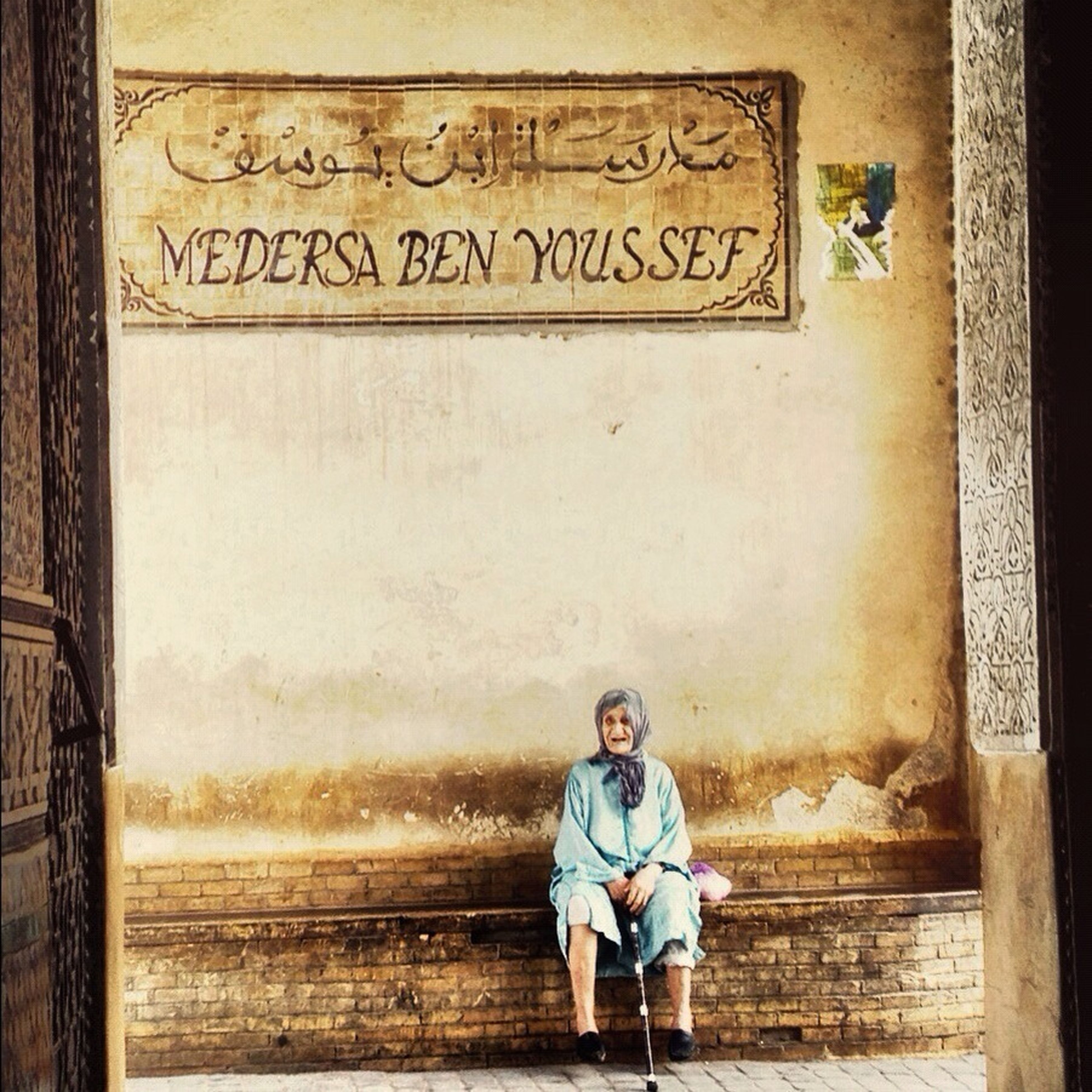Street Life Marruecos Madraza Ben Youssef