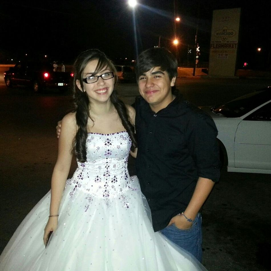 Shayla And I On The Day Of Her Quince (: