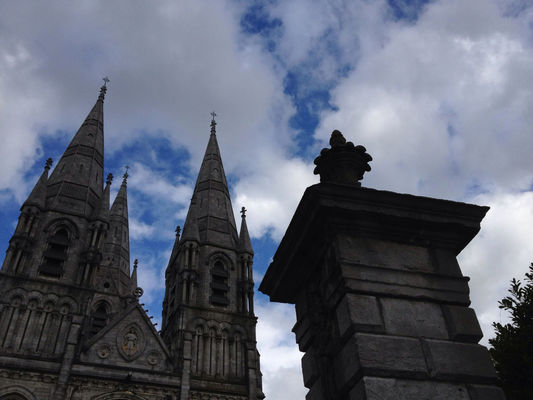 Taking Photos at St Finbarre's Cathedral by Bob Van Dusen