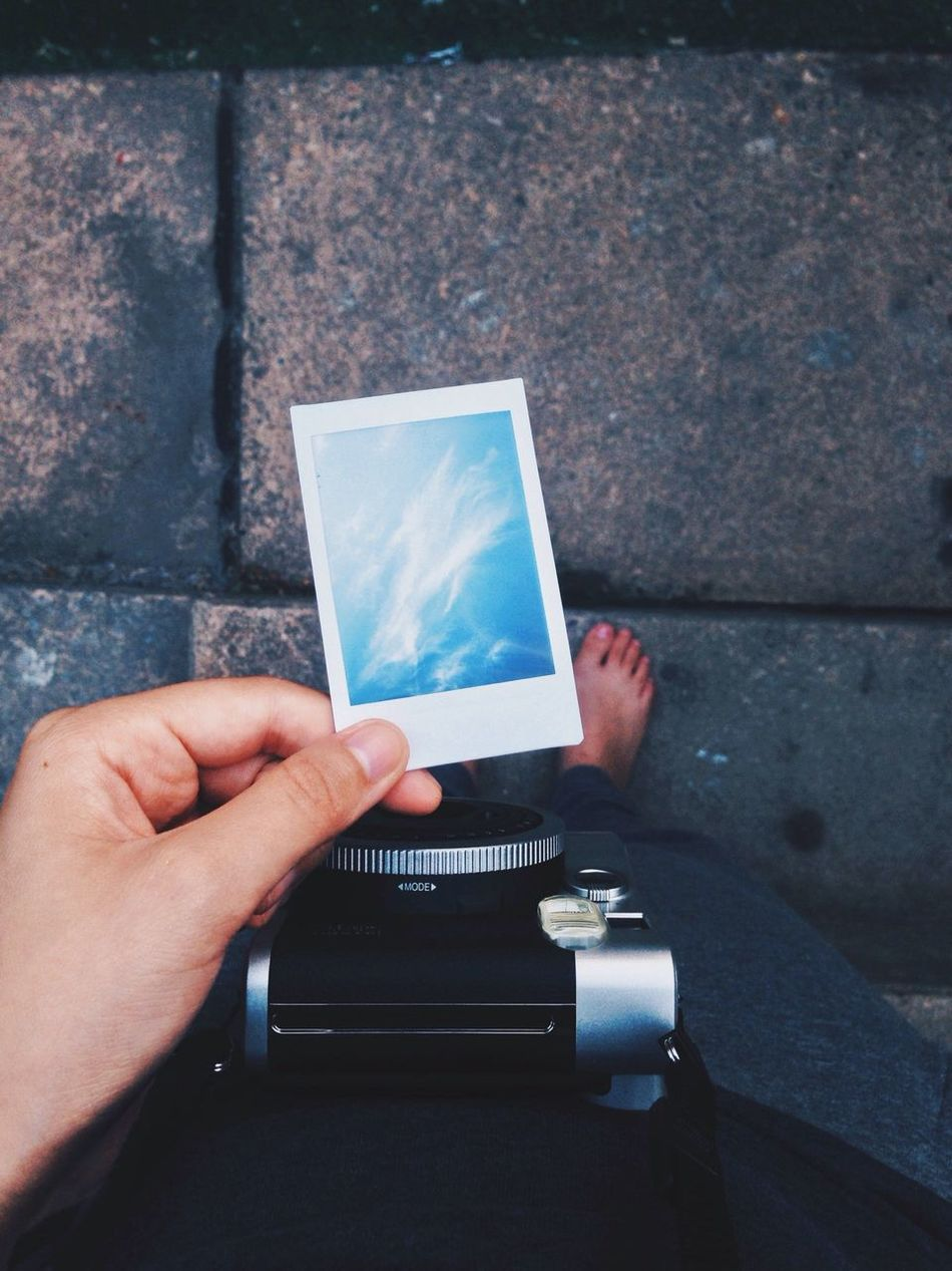 Beautiful stock photos of art, Camera, Cloud, Holding, Human Hand