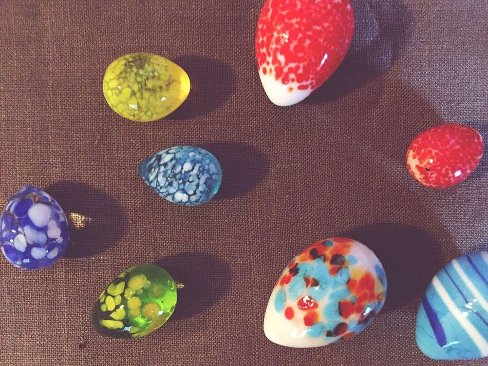 Eggs Egg Glass Glasses Glass Art Glass - Material Glass Egg Easter Easter Eggs Colors Spring Springtime Religious  Religion Art ArtWork Easter Ready