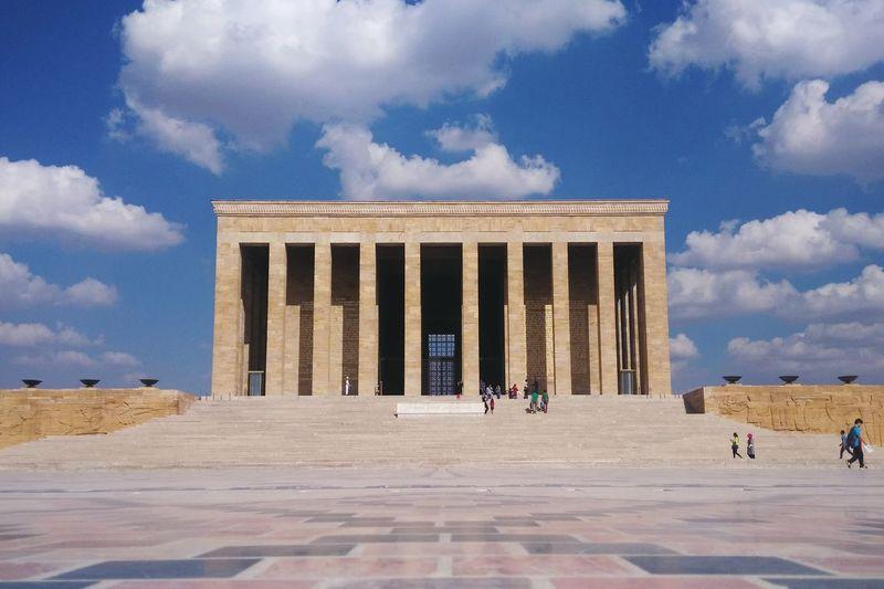 Turkey Atatürk Mausoleum Symmetry