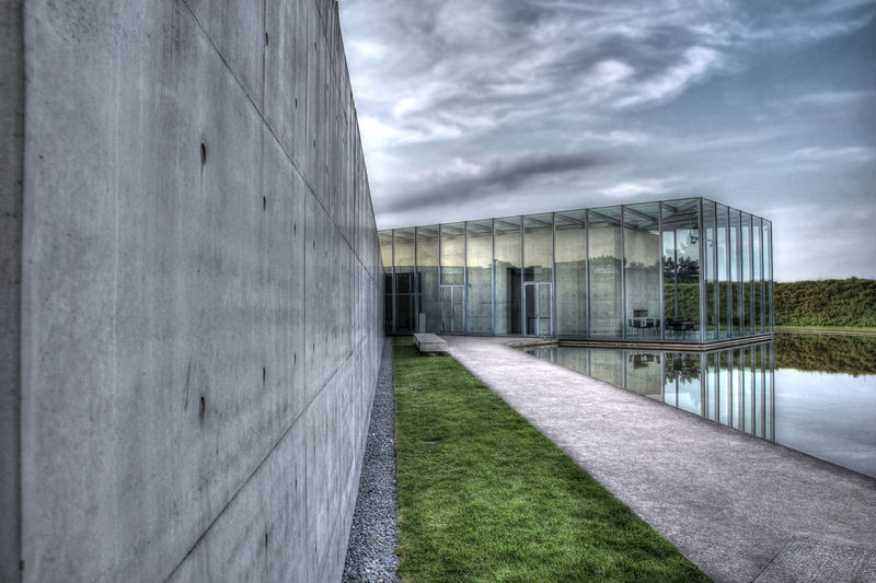 Insel Hombroich Abandoned Absence Architecture Building Building Exterior Built Structure Composition Connection Entrance Glass - Material HDR House Perspective Residential Structure The Way Forward Wall Window