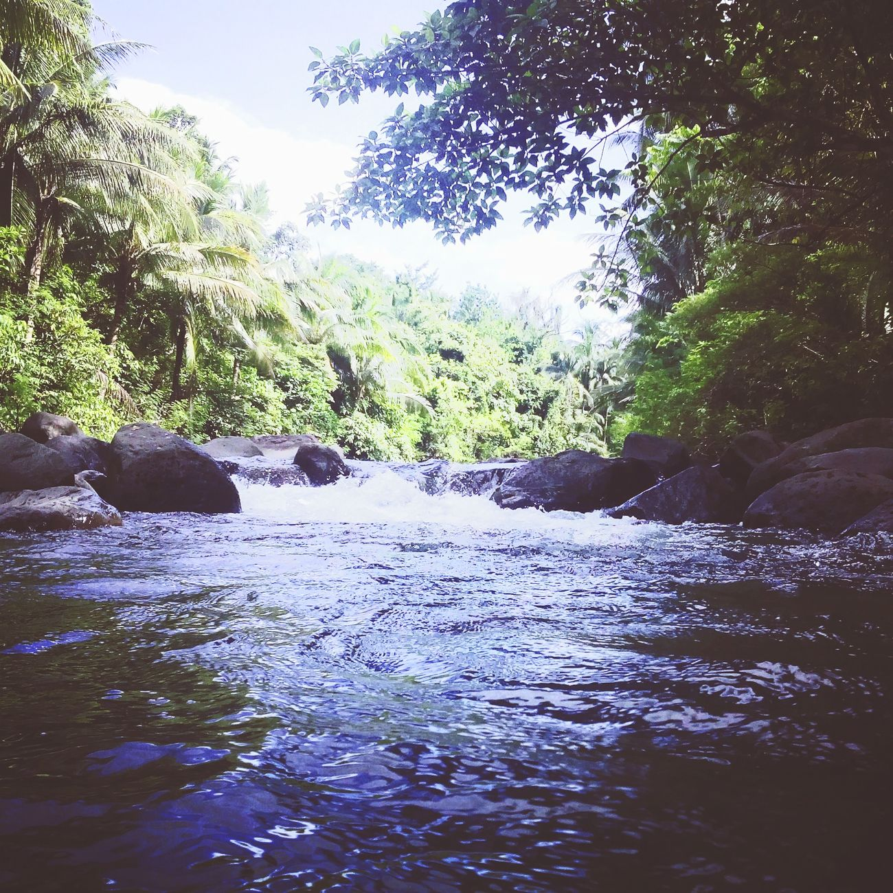 Amambahag River..best place to relax and swim.. Enjoying Life Hello World ..