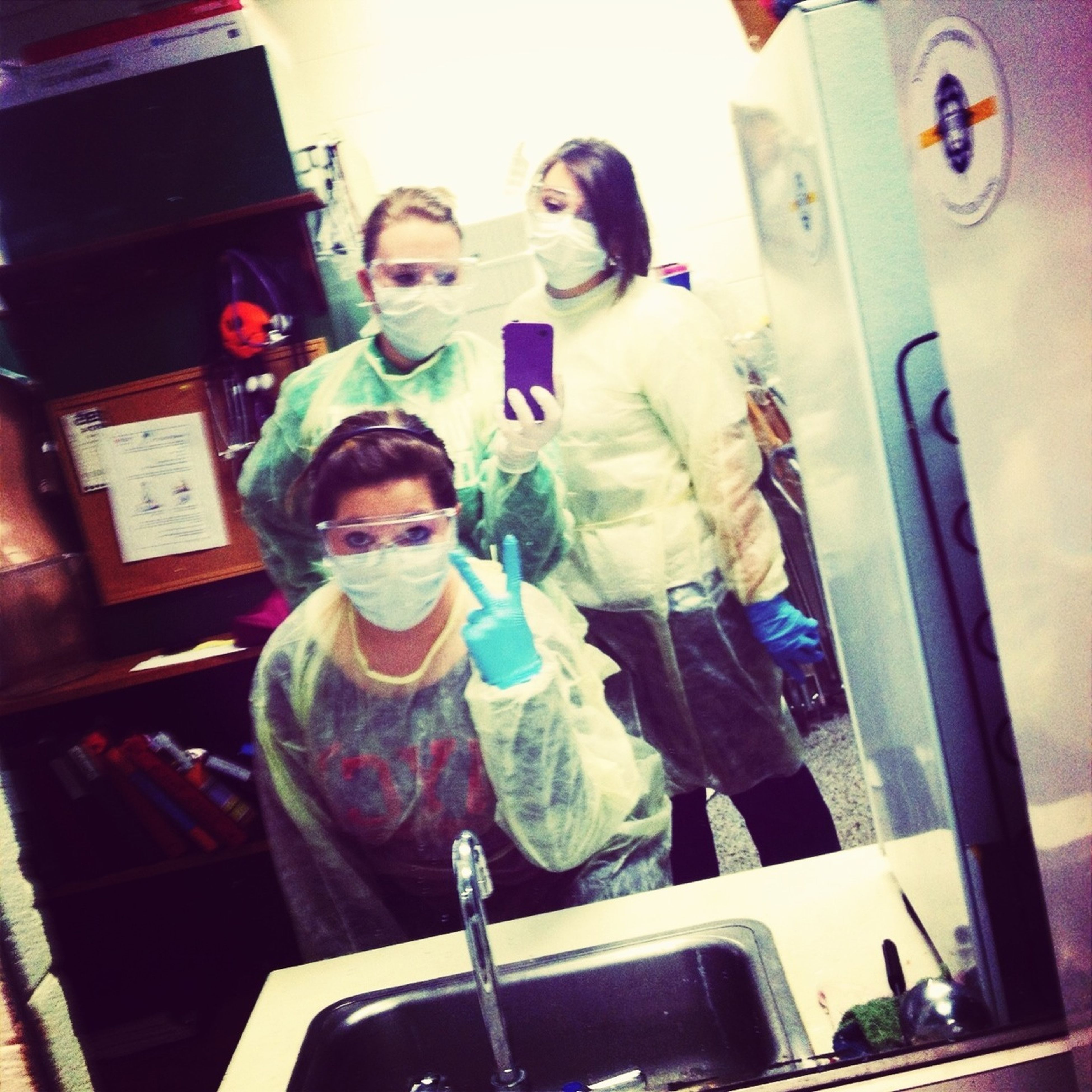Infection Control With My Bestfriends