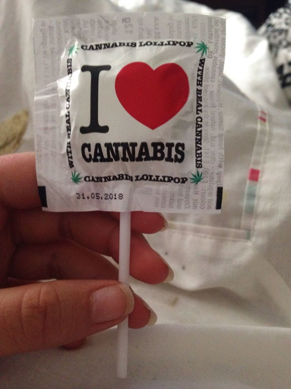 Cannabis lolly 🍁😊 Amsterdam Lolly Weed Cannabis Lol :) Heart Shape Human Hand Text Indoors  Close-up Day