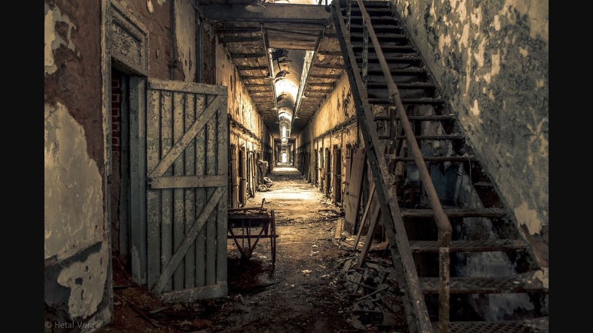 Eastern State Penitentiary Scary death Innocent dead