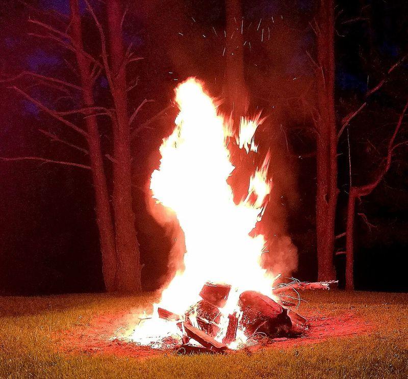 Traditional Festival Midsummer Night Midsummer Festival Fire Fire And Flames My Park🌲🏞🏡🌾👍