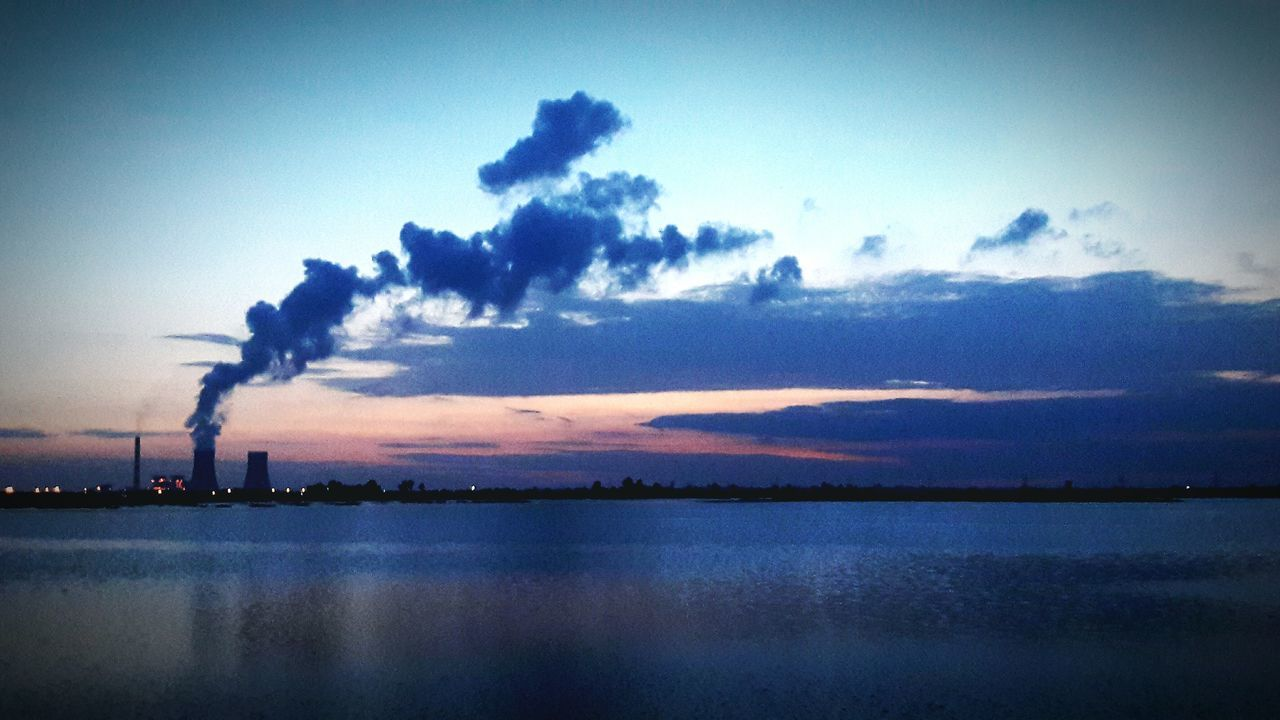 Water Waterfront Cloud - Sky Beauty In Nature Sky Day Blue No People Nature Cloud Industry