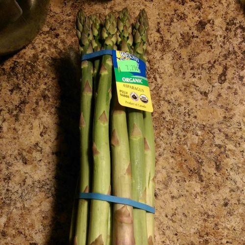 Welshfamilyorganics Asparagus Dinner