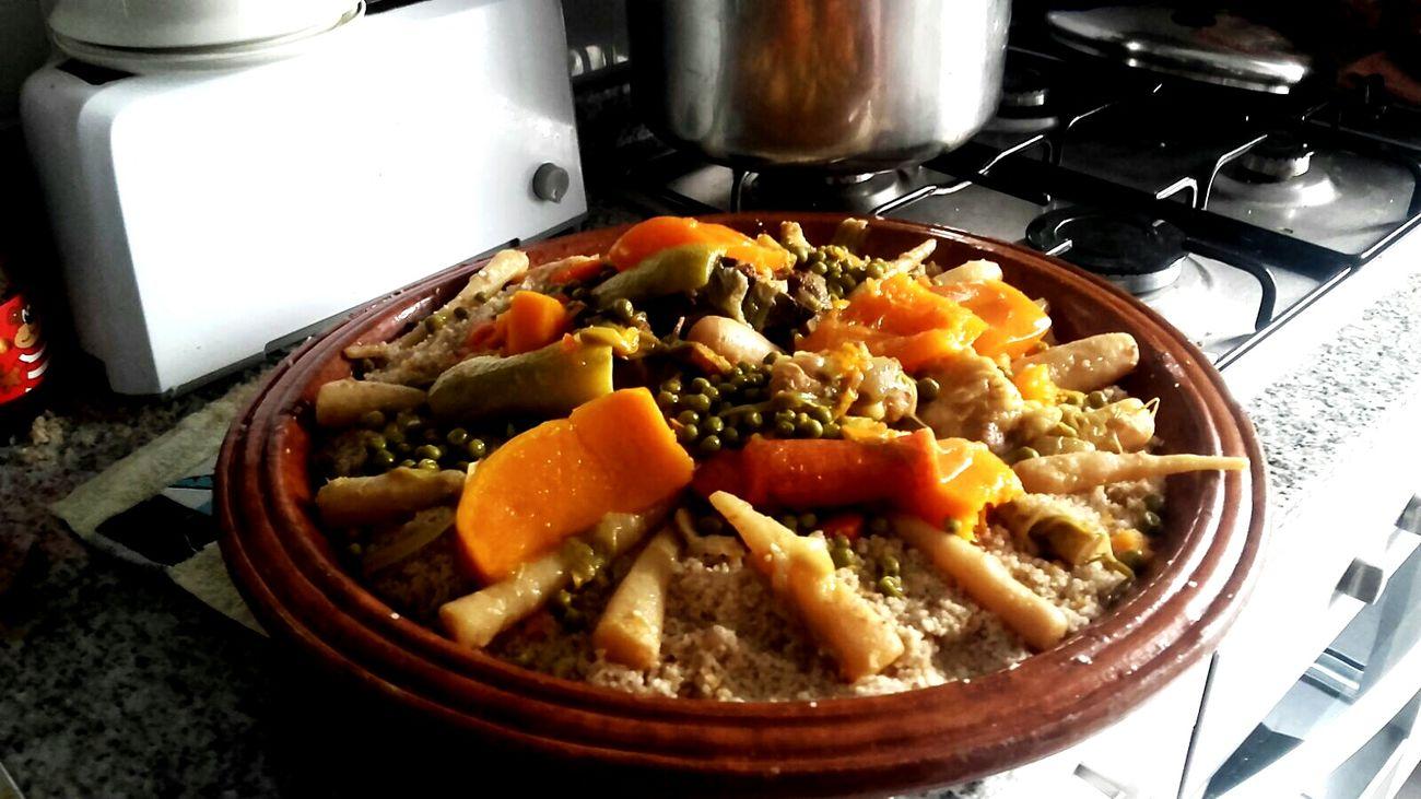 Couscous Time  Couscous Couscousfest Comida Marroquí Food Porn Foodphotography Food♡
