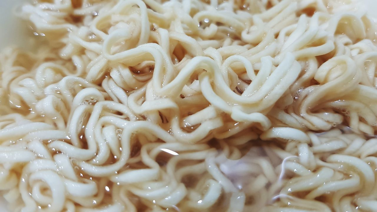 EyeEm Selects Instant noodlebo boiled and ready to cooking Full Frame No People Close-up Tentacle Backgrounds Coral Sea Anemone Underwater UnderSea Sea Life Food Outdoors Day Noodle Noodle Soup EyeEm New Here The Week On EyeEm Cooking Instant Food