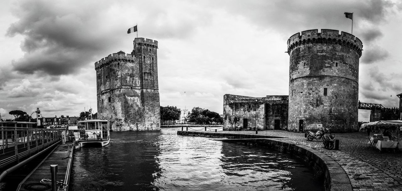 La Rochelle, France Port