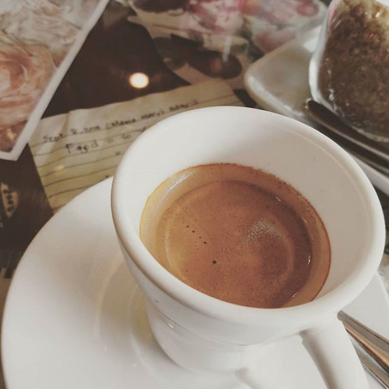 Break for lunch after a successful errand with Espresso Manmakecoffee Coffee_inst