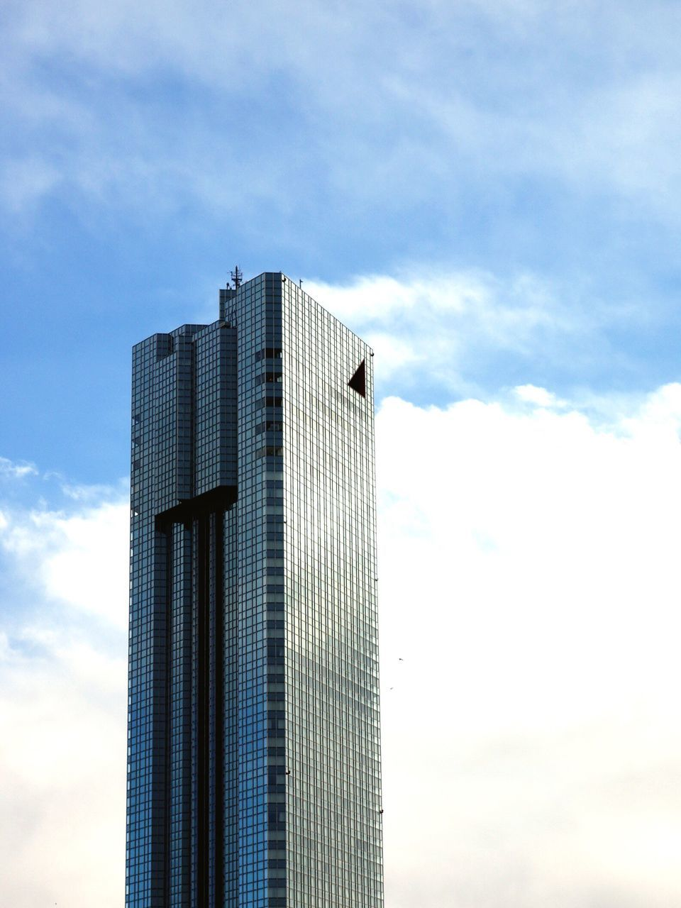 sky, architecture, low angle view, built structure, cloud - sky, modern, skyscraper, building exterior, day, no people, outdoors, growth, city