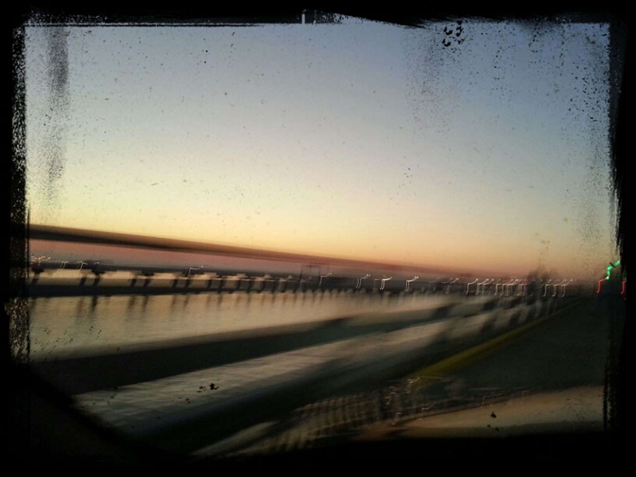 Kinda blury but, Bay Bridge