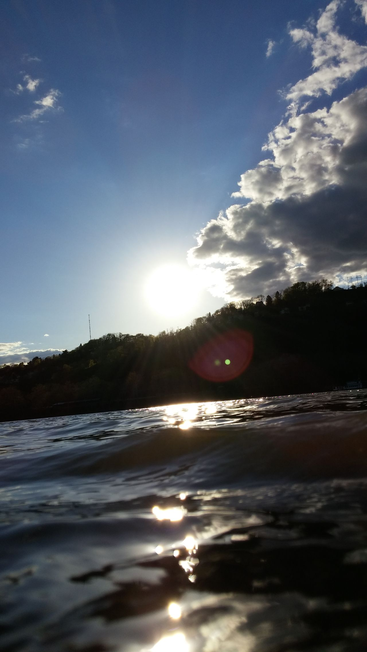 Allegheny River Sunlight Water