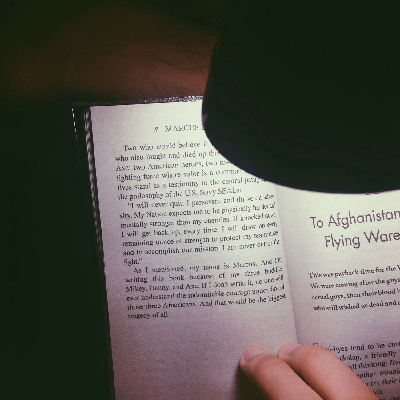 "This is Great Book to have. ""Lone Survivor"" Navyseal Lonesurvivor Marcusluttrell"