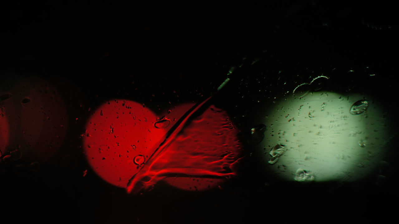 drop, no people, close-up, red, water, wet, indoors, fragility, nature, freshness, beauty in nature, black background, day