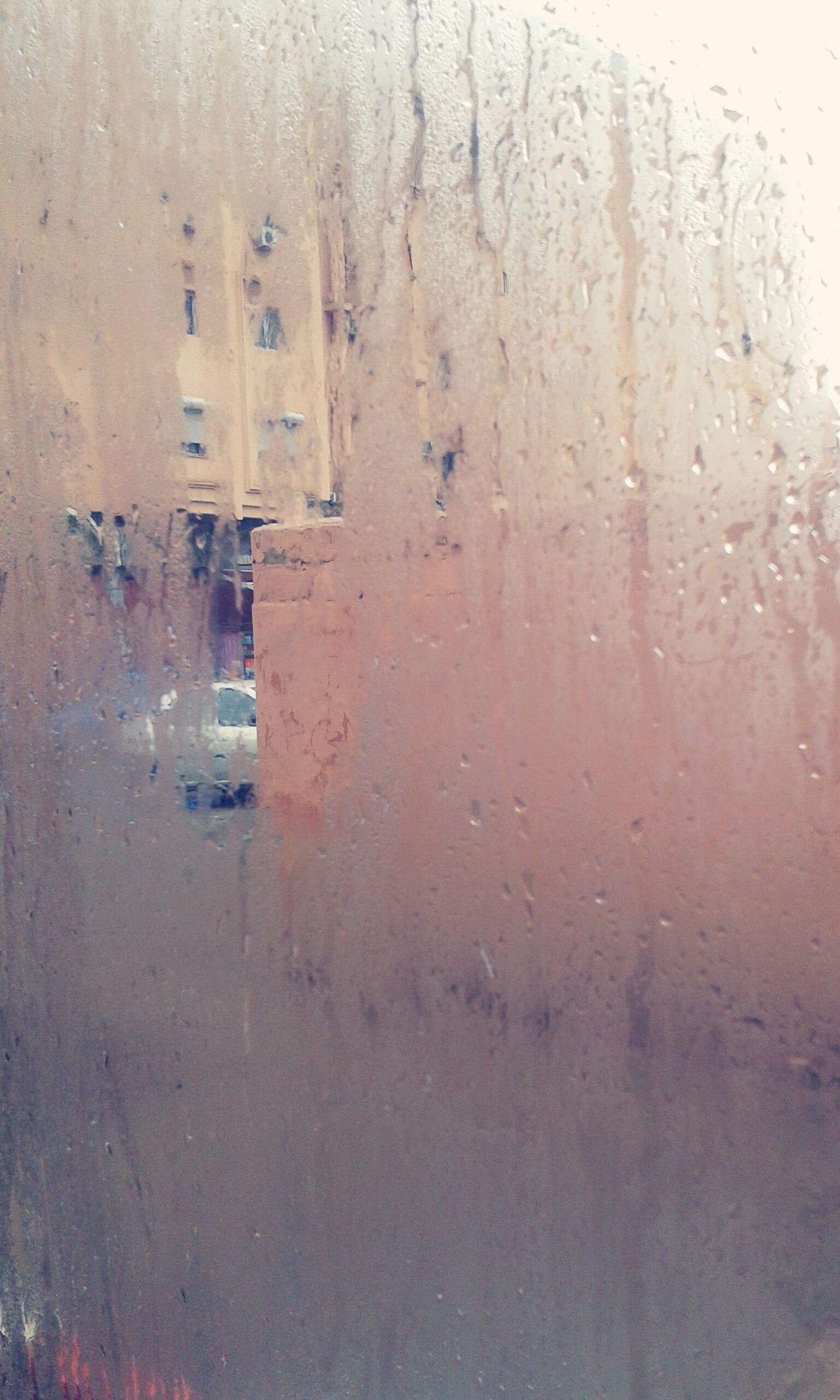 Marrakech When It's Raining In Bus