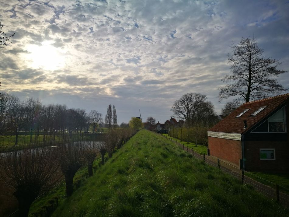 Cloud - Sky Outdoors Beauty In Nature Day Dutch Rustic Landscape Dutch Landscape Dutch Countyside Dutch Landscapes Scenics